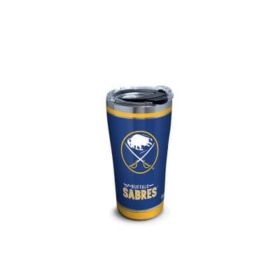 NHL Buf Sabres Shootout 20 oz. Stainless Steel Tumbler with Lid