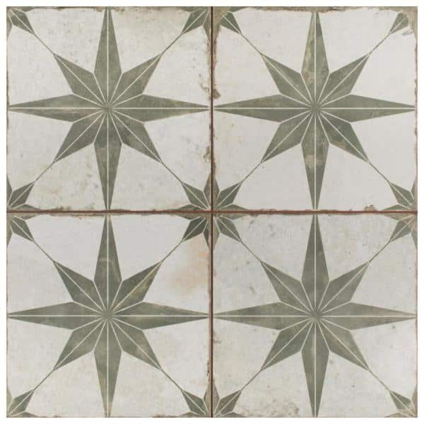 Merola Tile Take Home Sample Kings Star Sage 9 In X Ceramic Floor And Wall S1fpestrs The Depot