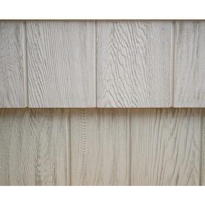 8-1/2 in. x 60-3/4 in. Mountain Ash Engineered Rigid PVC Shingle Panel 7.5 in. Exposure (32 per Box)