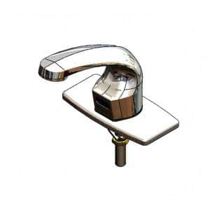 Sensor Touchless Faucet Single Hole with Plug in Polished Chrome Plated Brass