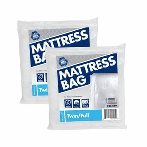 91 in. D x 54 in. H x 14 in. W Twin and Full Mattress Bag (2-Pack)