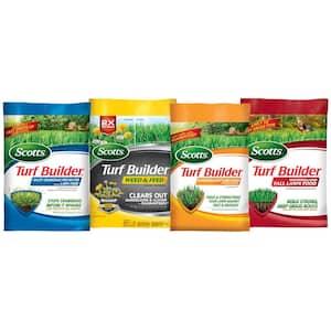 5,000 sq. ft. Northern Lawn Fertilizer Program for Bermuda, Bluegrass, Rye, and Tall Fescue (4-bag)