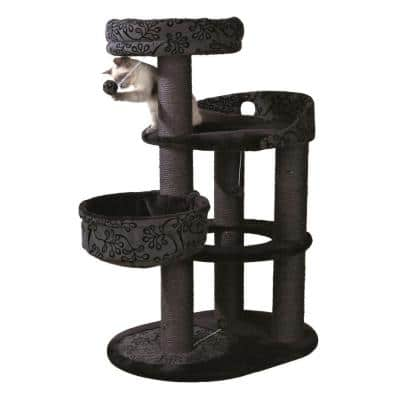 Black/Gray Filippo Cat Tree