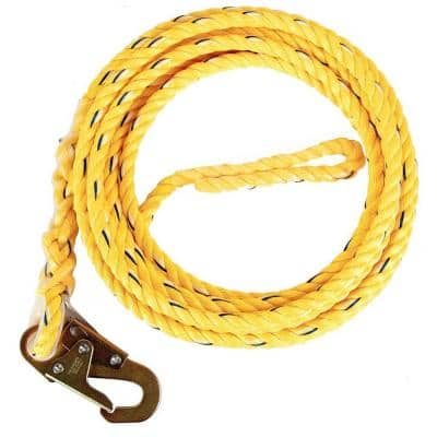 5/8 in. x 100 ft. Poly Steel Rope with Snaphook