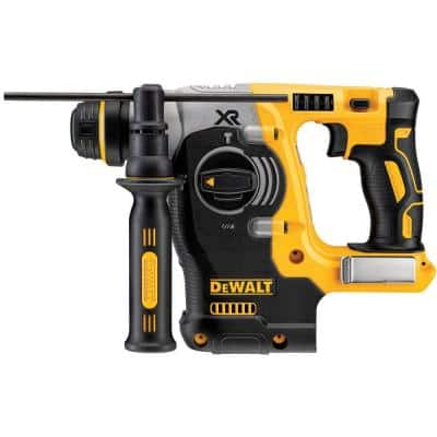 20-Volt MAX XR Cordless Brushless 1 in. SDS Plus L-Shape Rotary Hammer (Tool-Only)