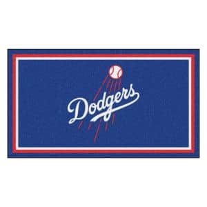 MLB - Los Angeles Dodgers 3 ft. x 5 ft. Ultra Plush Area Rug