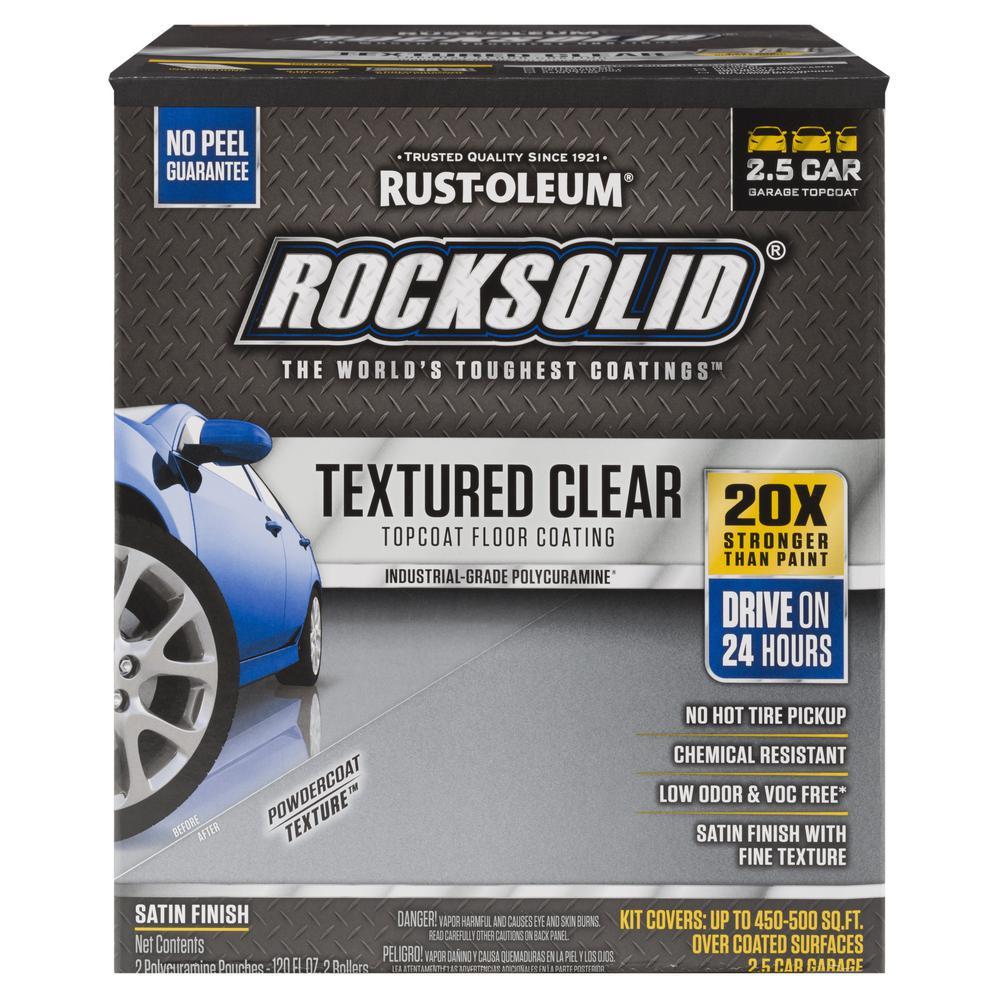 120 oz. Clear Texture Top Coat Garage Floor Kit (2-Pack)