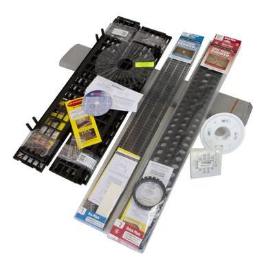 Standard Shower Kit (8-Pieces)