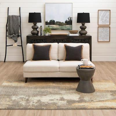 Truro Grey 8 ft. x 10 ft. Indoor Area Rug