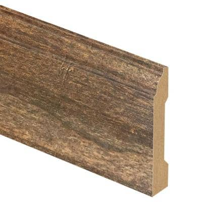 Rustic Cherry 9/16 in. Thick x 3-1/4 in. Wide x 94 in. length Laminate Base Molding