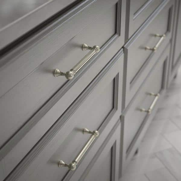 Polished Nickel Drawer Pull P41930c Pn, Home Depot Hardware For Cabinets And Drawers