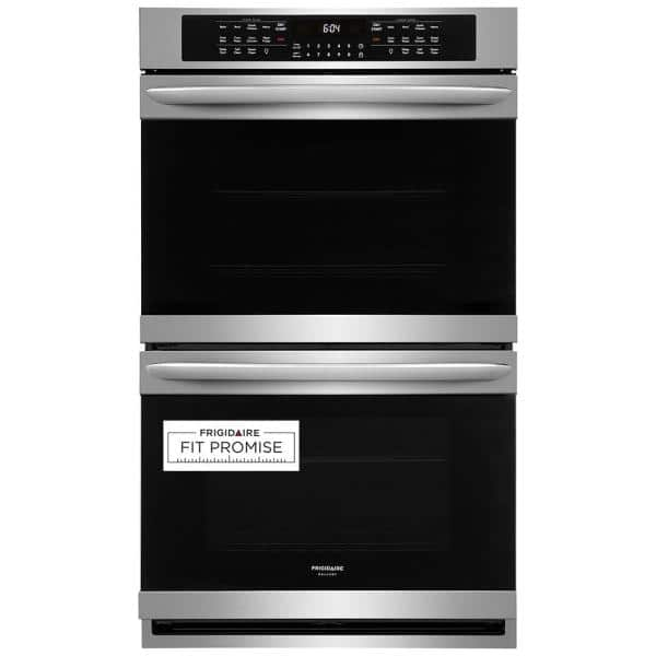 Frigidaire Gallery 30 Smdge-Proof Stainless Steel Single Electric Wall Oven