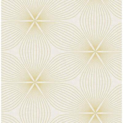 Lucy Starburst Paper Strippable Roll (Covers 56 sq. ft.)
