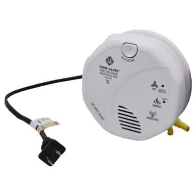 Smoke Detector with 2-Hidden Cameras with Night Vision