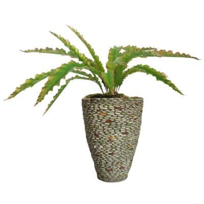 47 in. H Real Touch Agave in Fiberstone Planter