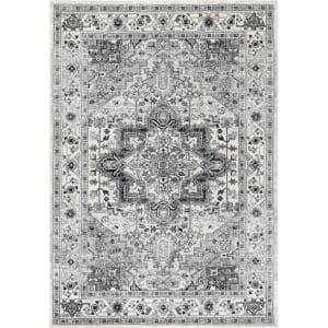 Vonda Persian Gray 9 ft. x 12 ft. Area Rug