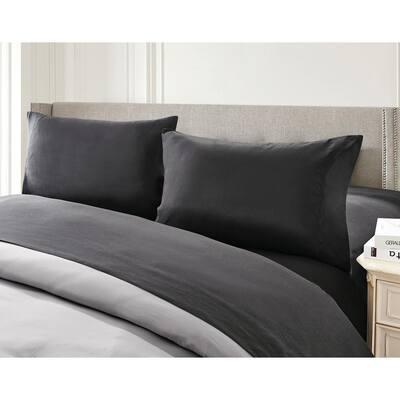 7-Piece Gray Twin Comforter Set
