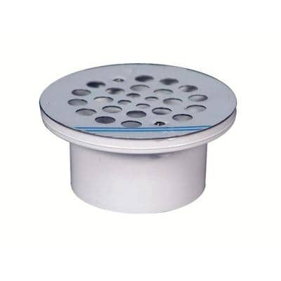 2 in. Stainless Steel General Purpose Drain for PVC Pipe (Case of 20)