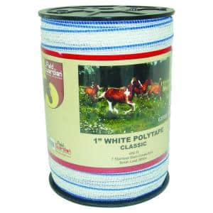 1 in. White Classic Polytape
