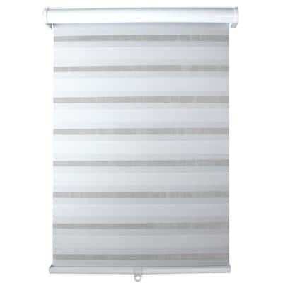 Light Filtering White 27 in. x 72 in. Cordless Sheer Shade