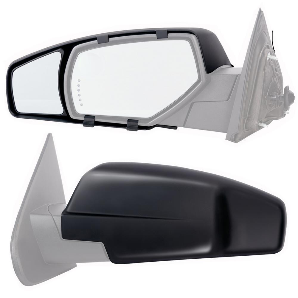 Clip-on Towing Mirror Set for 2014 - 2018 Chevrolet Silverado/GMC Sierra