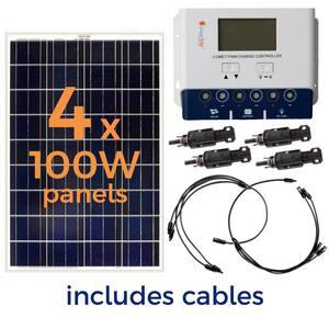 4x Astroenergy 275W Solarmodul Photovoltaikmodul 275 Watt Solarpanel 1000 Watt