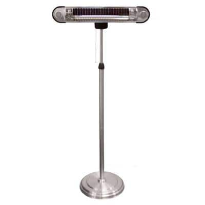 1,500-Watt Adjustable Infrared Heat Lamp Electric Patio Heater