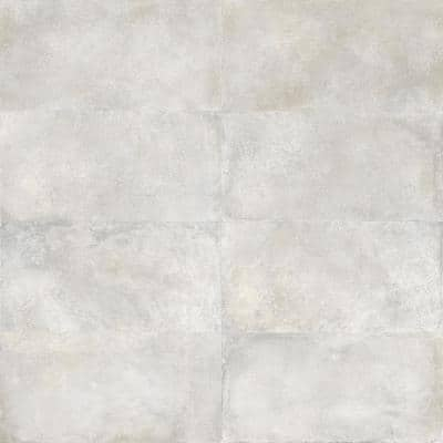 Hudson Silver 23.69 in. x 47.07 in. Matte Porcelain Floor and Wall Tile (31 sq. ft. / Case)