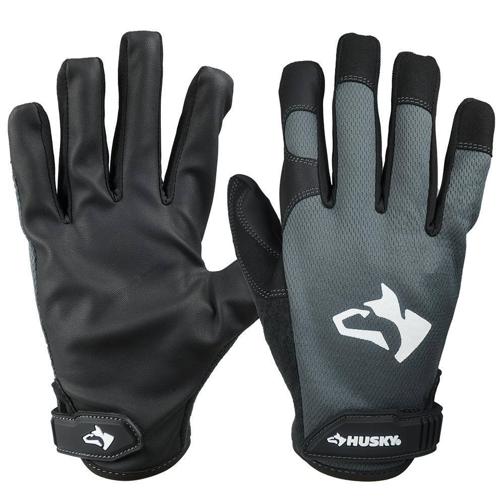 Husky Medium Light Duty Glove 67806 06 The Home Depot