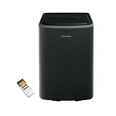 14,000 BTU (7,800 BTU, DOE) Portable Air Conditioner with Remote Control for Rooms up to 700 sq. ft. in Black