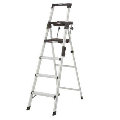 6 ft. Premium Aluminum Step Ladder (10 ft. 3 in. Reach) 300 lbs. Load Capacity Type IA Duty Rating