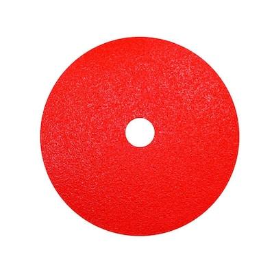 7 in. 50-Grit Fiber Disc (2-Pack)