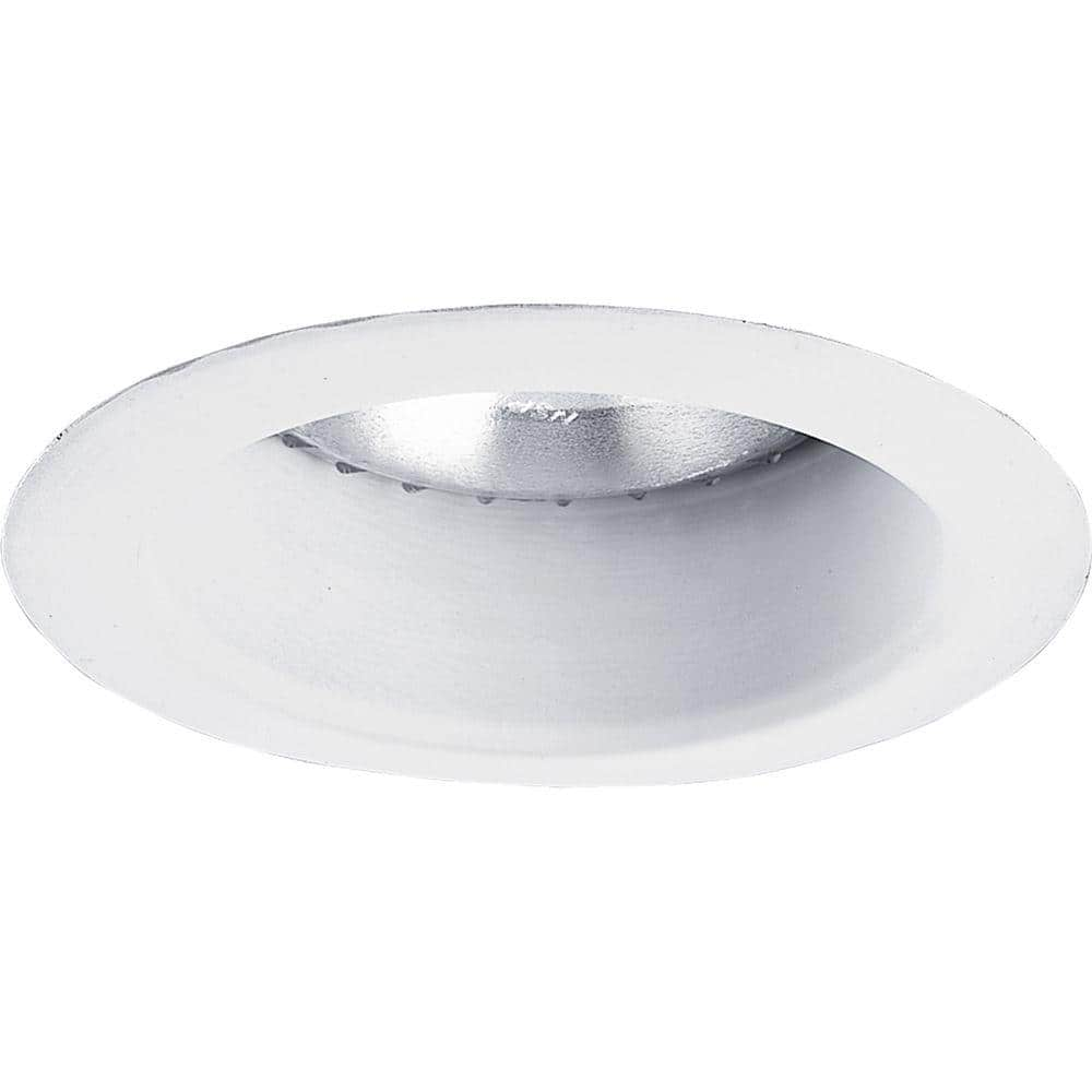 Progress Lighting 5 In White Recessed Open Trim P8168 28 The Home Depot