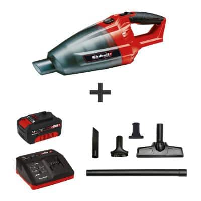 PXC 18-Volt Cordless Home/Auto Handheld Vacuum Kit, w/Crevice Tool, Floor Nozzle (w/ 3.0-Ah Battery and Fast Charger)