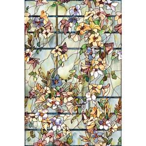 24 in. x 36 in. Trellis Decorative Window Film