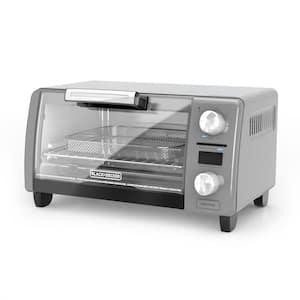 Crisp 'n Bake 4-Slice Silver Countertop Oven