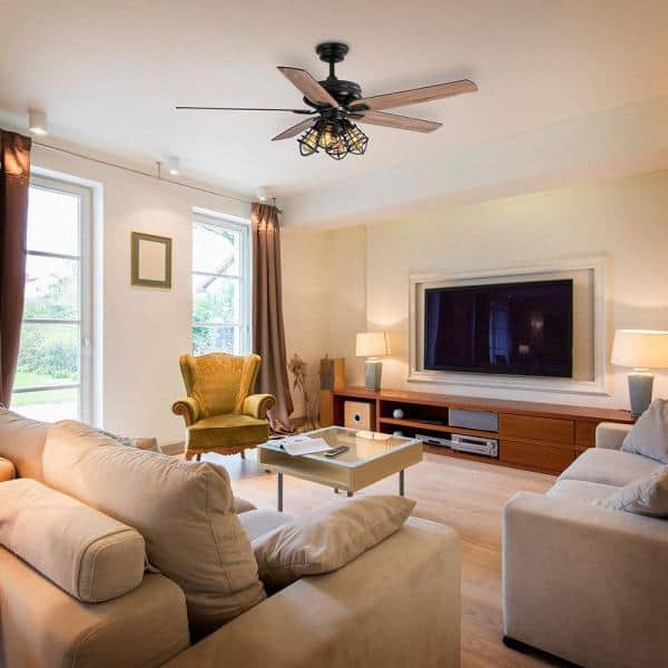 Home Decorators Collection Carlisle 60, Living Room Ceiling Fans