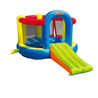 35614 Inflatable Jump and Slide Bouncer Bounce House with Oversized Slide