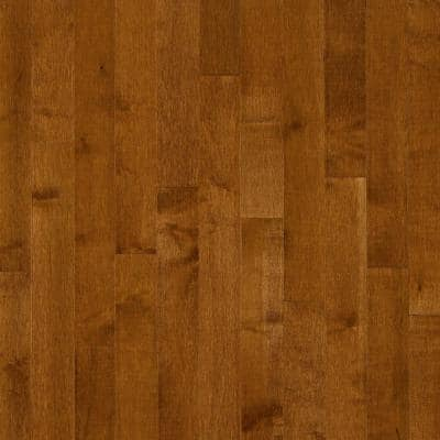 Maple Gunstock 3/4 in. Thick x 2-1/4 in. Wide x Varying Length Solid Hardwood Flooring (20 sq. ft. /case)