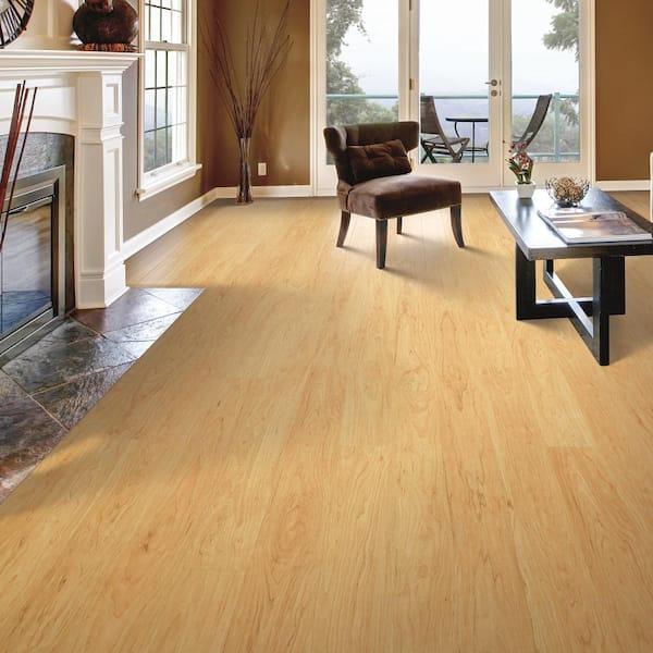 Northern Blonde Maple Laminate Flooring, Blonde Maple Laminate Flooring