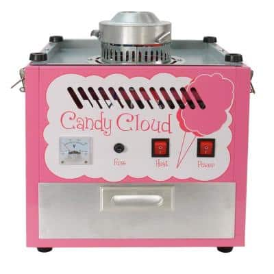 Commercial Pink Cotton Candy Cloud Hard Candy Table Top Machine Floss Maker