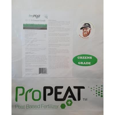 25 lbs. 5,445 sq. ft. Dry Lawn Fertilizer (13-5-8 Greens Grade)