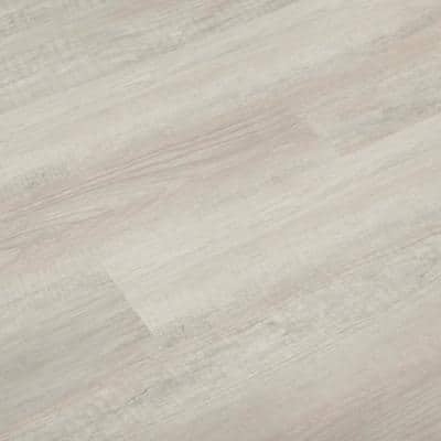 Creamy Elm 7.1 in. x 48 in. x 5mm SPC Rigid Core Water-Proof Click-Locking Vinyl Plank Flooring (23.64 sq. ft./case)