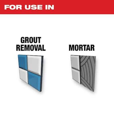 3 in. Bi-Metal Universal Fit Hybrid Carbide Grit 2-in-1 Blade for Tile Work Multi-Tool Oscillating Blade (1-Piece)