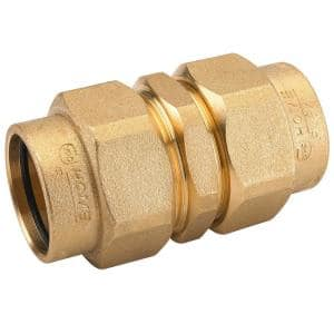 1/2 in. CSST x 1/2 in. CSST Brass Union