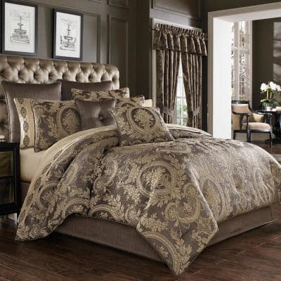 Neapolitan Mink King 4Pc. Comforter Set