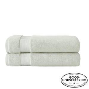 Egyptian Cotton Bath Sheet in Sage (Set of 2)