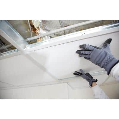 7/8 in. x 12 ft. Ceiling Grid Wall Molding