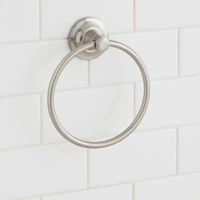 Cooperton Towel Ring in Brushed Nickel
