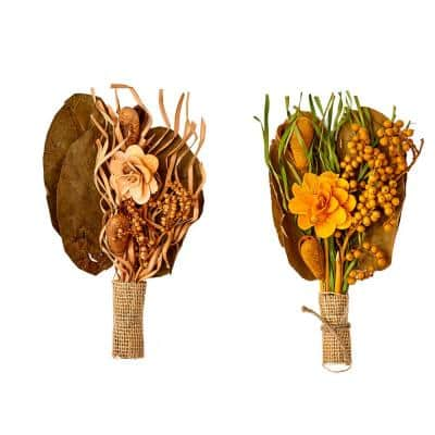 10 in. Mixed Pod Bunch (Set of 6)